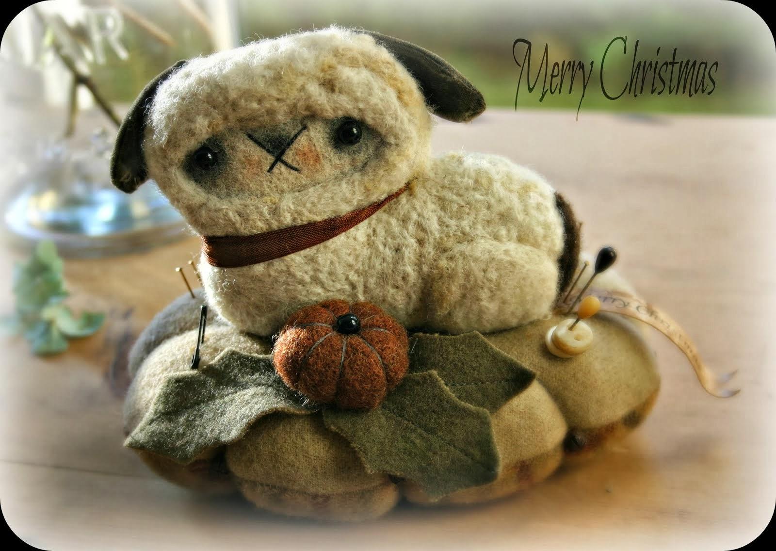Merry Christmas Lamb