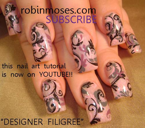 Nail Art Designs 2011: Nail Art By Robin Moses: April 2011