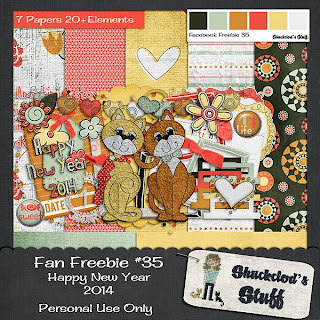 Facebook Fan #35 Freebie