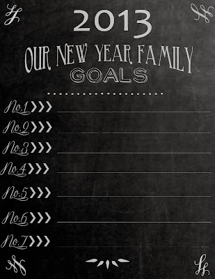 Carissa Miss: New Years Resolutions #freeprintable