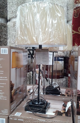 Bridgeport Designs Glass Cylinder Table Lamps to help brighten up your home