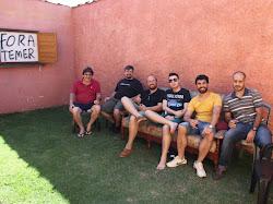 Equipe que faz o Blog O Calçadão!