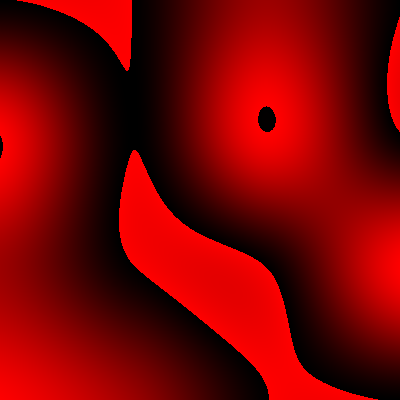 bicubic interpolation with channel overflow errors, red channel