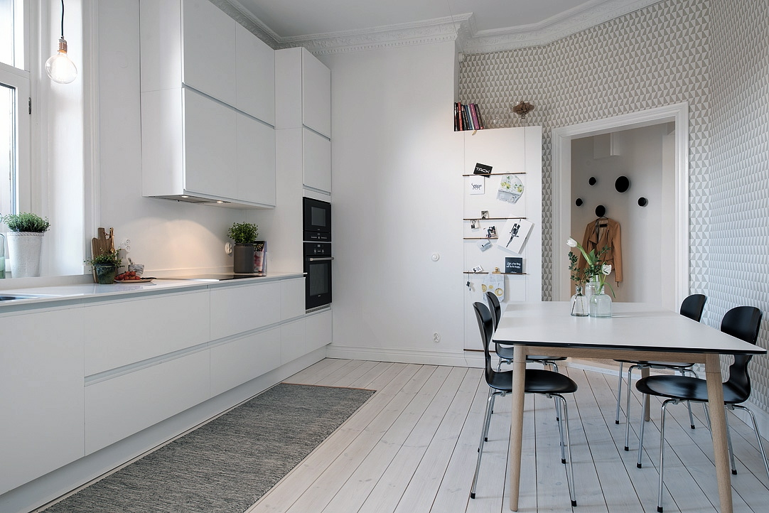 Inspiring homes alvhem in linn staden nordic days by - Muebles de cocina baratos ikea ...