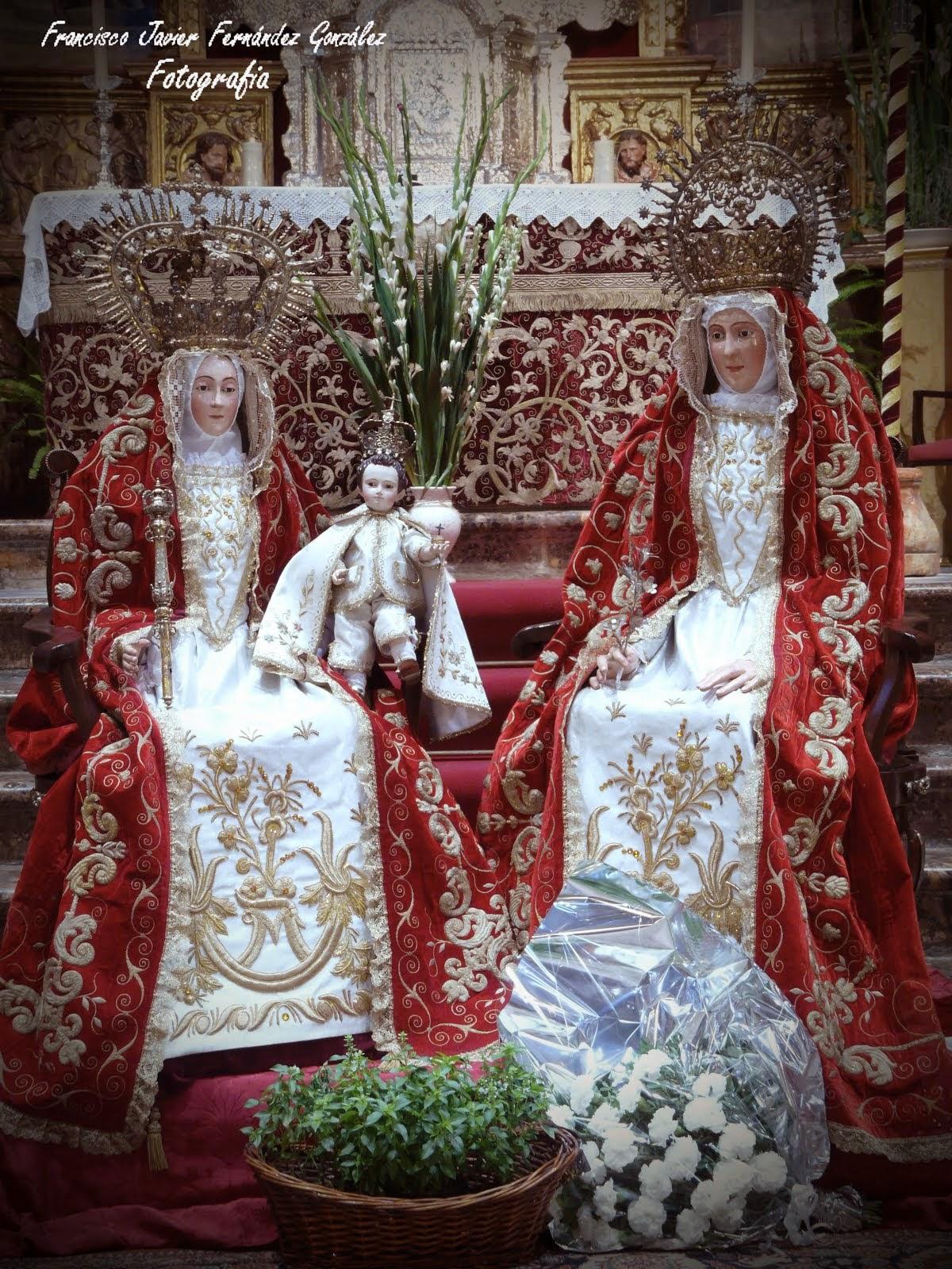 Conjunto escultórico compuesto de Santa Ana, la Virgen María y el niño Jesús. (Parroq. Santa Ana)