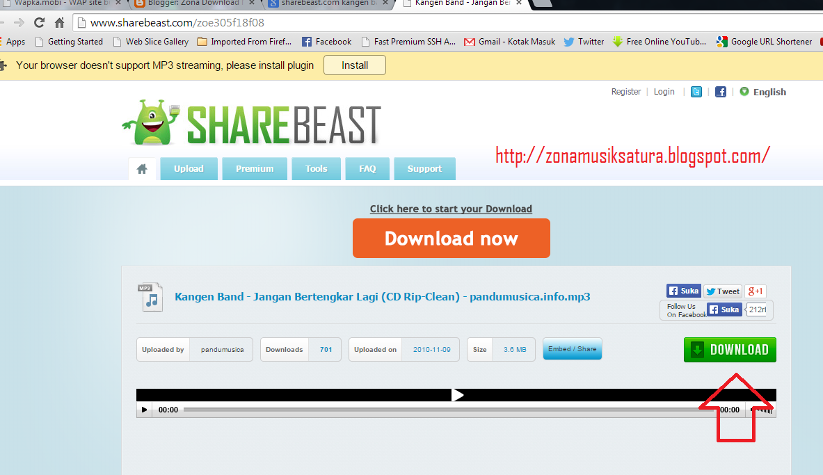 Cara Download File Di Sharebeast | Terbaru 2015