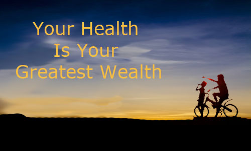 health is a greatest wealth Soil to soul principle #6 health is our greatest wealth ~ nourish the soil and your soul with restorative nutrients invest in physical, mental and spiritual health.