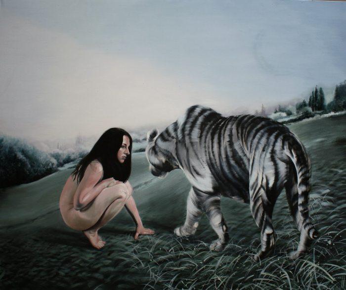 Польская художница. Ewa Szczekan