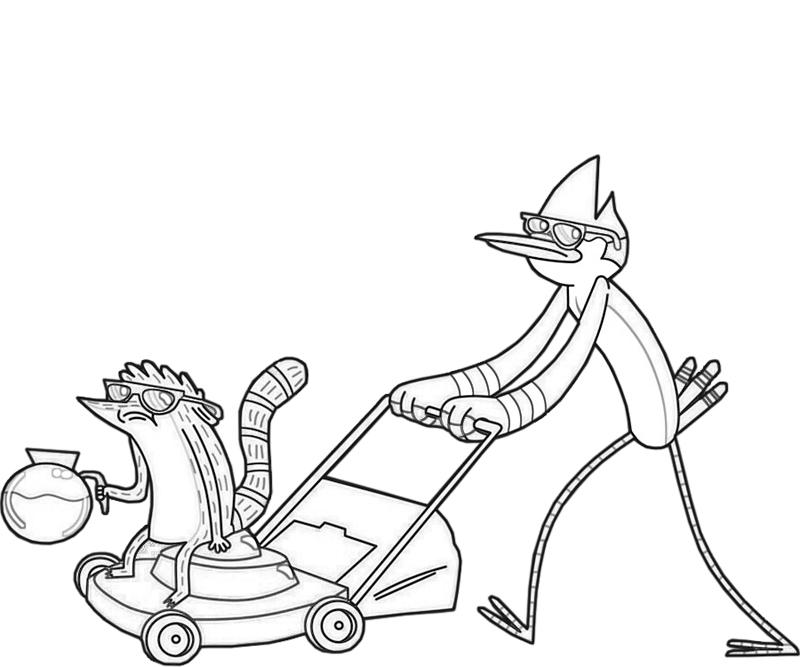 mordecai-and-friend-coloring-pages