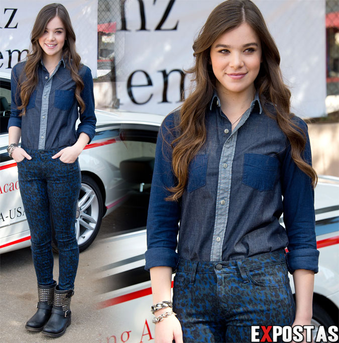 Hailee Steinfeld: National Teen Driver Safety Week - Los Angeles - 15 de Outubro de 2012