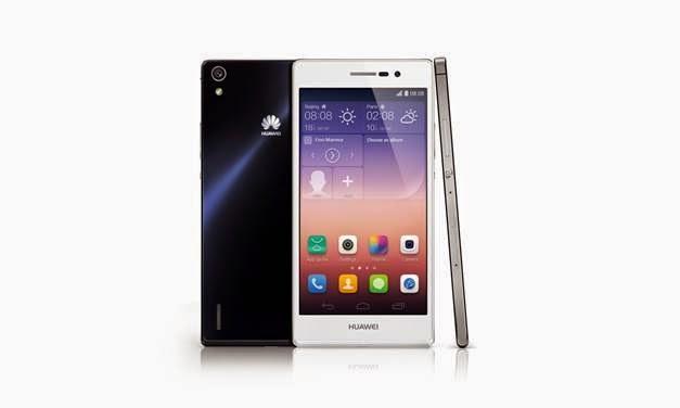 Primera imagen del Huawei Ascend P7