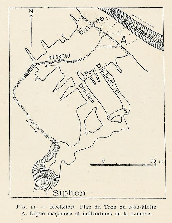 Topo uit Van Den Broeck, E.A. Martel, E. Rahir (1910)