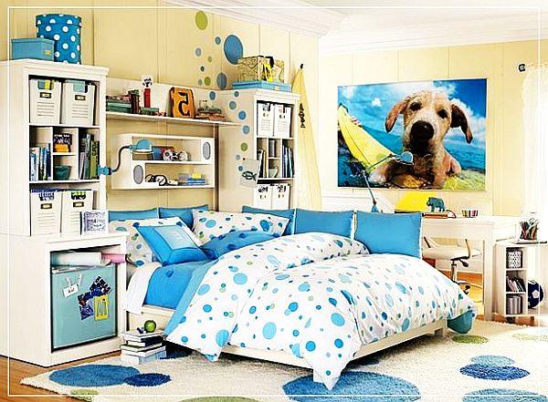 desain kamar tidur anak gadis remaja