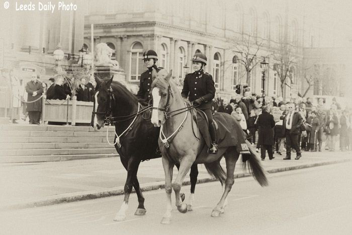 Leeds Mounted Police