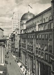 Postal Savings Bank 9 Jasna Street Warsaw-site of Blyskawica Radio in 1944