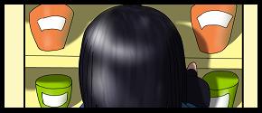 今日の楓さん「カップパスタ探し」(うちの子イラスト付き)