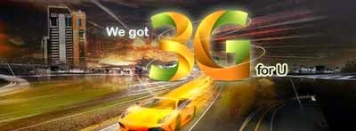 Ufone 3G packages for prepaid internet bundles
