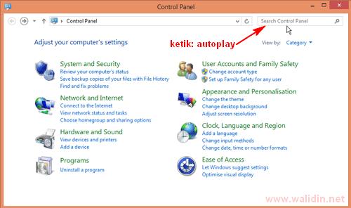 cara-menonaktifkan-autoplay-melalui-control-panel