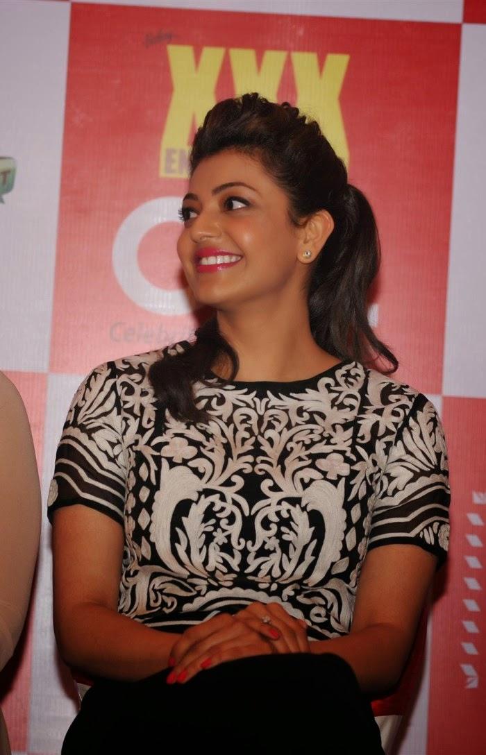Kajal Agarwal New Photos CCL 100 Hearts A Social Initiative Launch