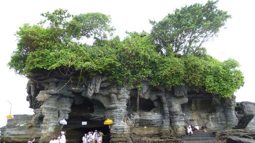 El templo de Tanah Lot en Bali
