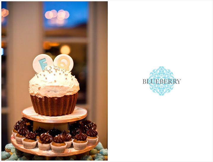 San Francisco Orinda Country Club cute fun wedding cake photography