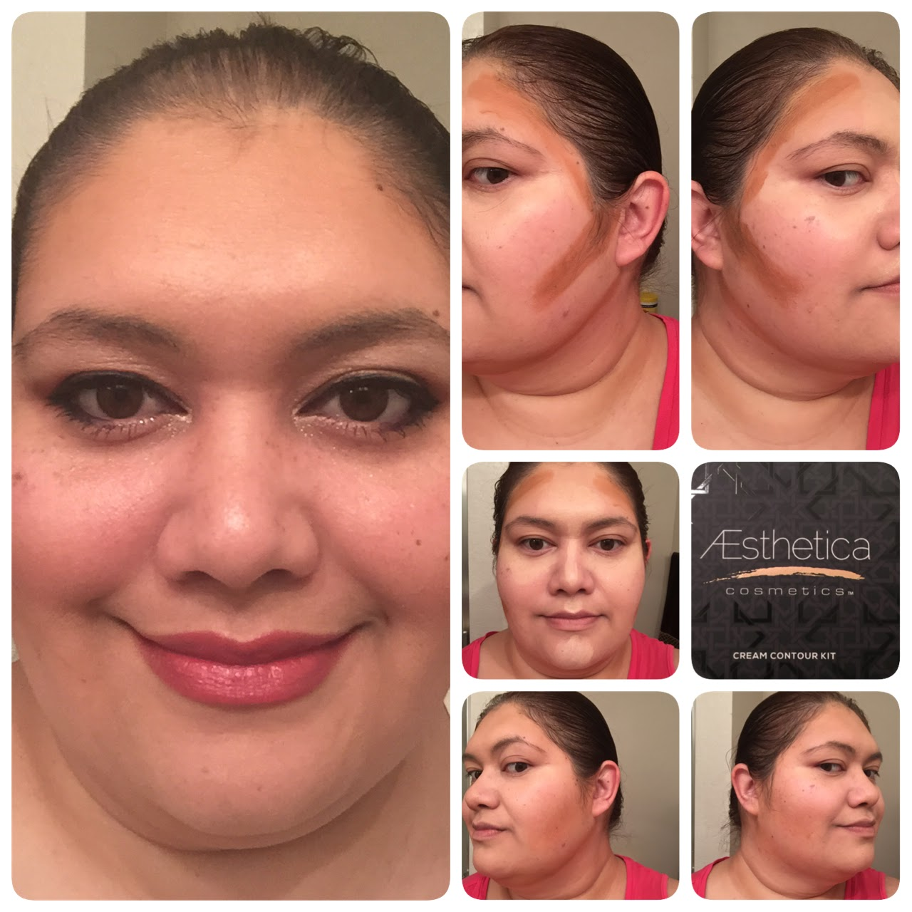 I Know It's Not A Very Dramatic Contour But This Kit Was Really Nice It  Was Super Easy To Use, Blended Smoothly And Looked So Natural, I  Appreciated Not