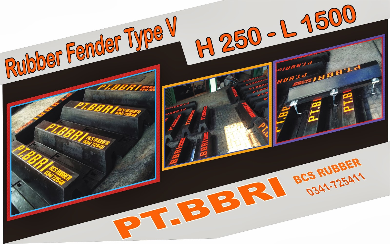 Rubber Fender BCS Rubber Industry,Rubber Fender Type V