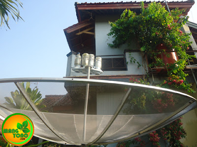 Kelebihan dan kelemahan menggunakan antena parabola.