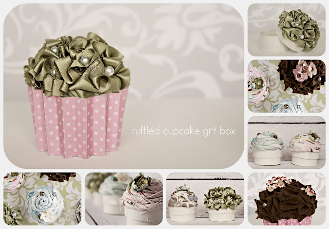 gift presents for kids: cupcake giftboxes!