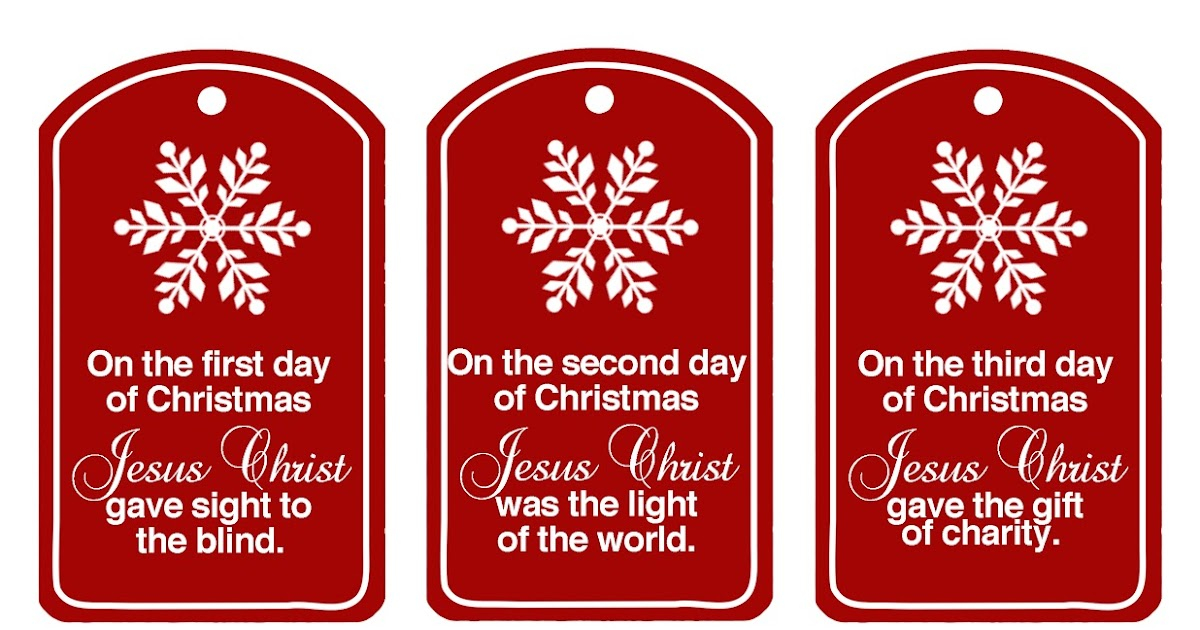family home fun christ centered 12 days of christmas updated - 12 Days Of Christmas Christian Version