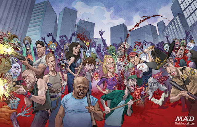 MAD Magazine The Walking Dead