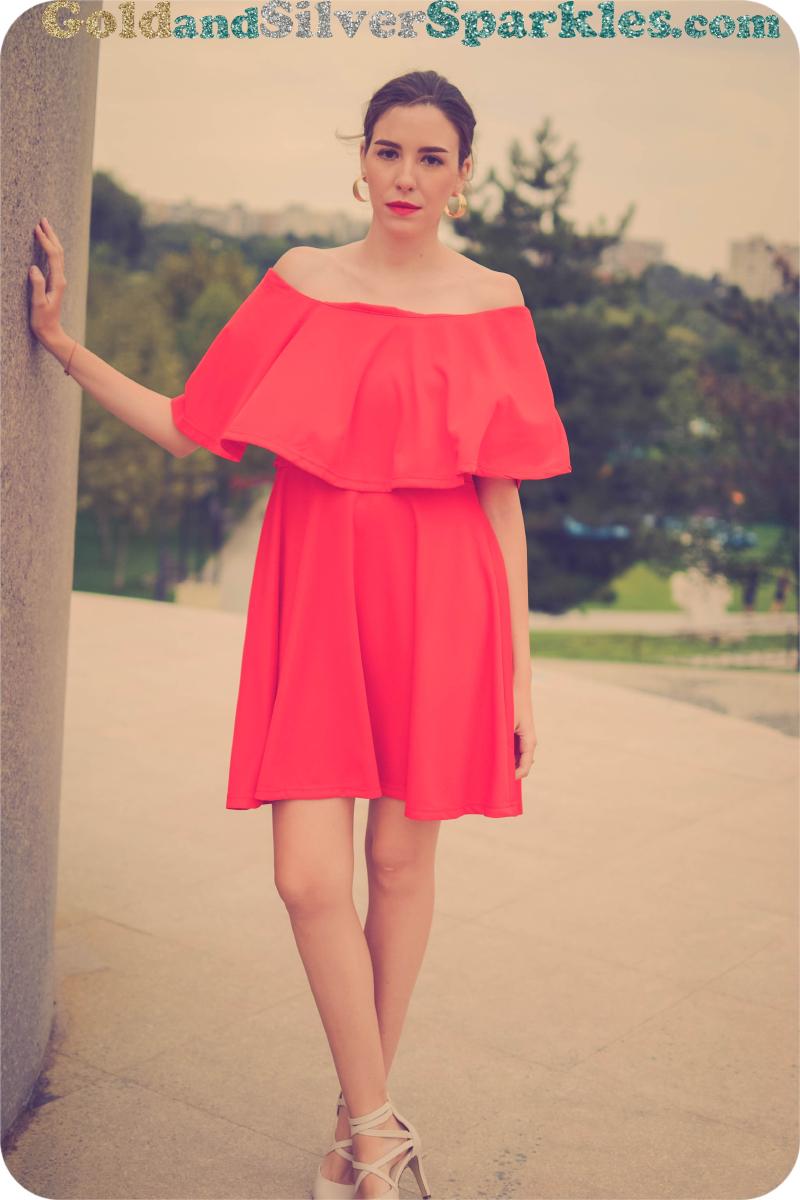 short red dress