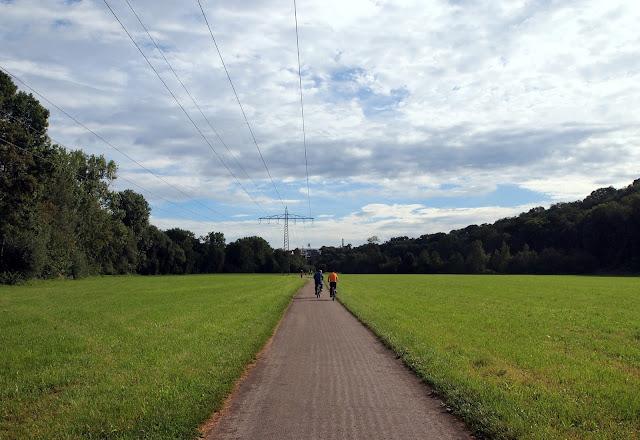 Walking around some of the local parkland - Bietigheim-Bissingen, Germany