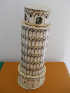 leaning tower of Pisa 3D puzzle