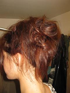 Pousse de cheveux rapide et naturelle: Chignon one again