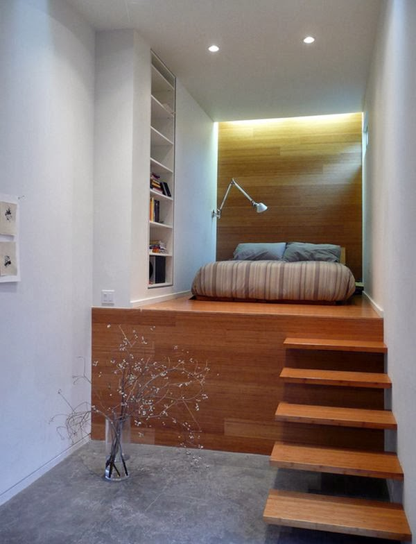 disain kamar tidur sempit: 45 inspirasi desain kamar tidur elegan untuk ukuran kecilberbagi