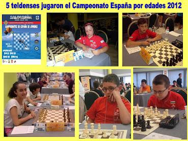 5 teldenses jugaron el Campeonato de España por edades 2012
