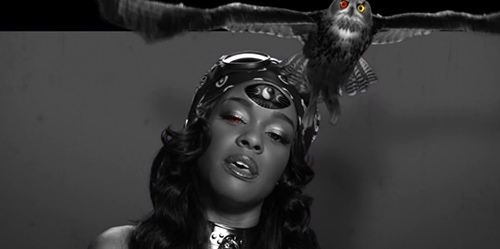 Yung Rapunxel Azealia Banks simbolismo Illuminati