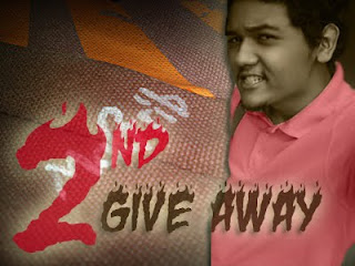 2nd Give away dari Magrib