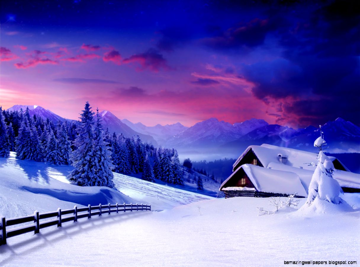 Winter Snow HD Background 6941284
