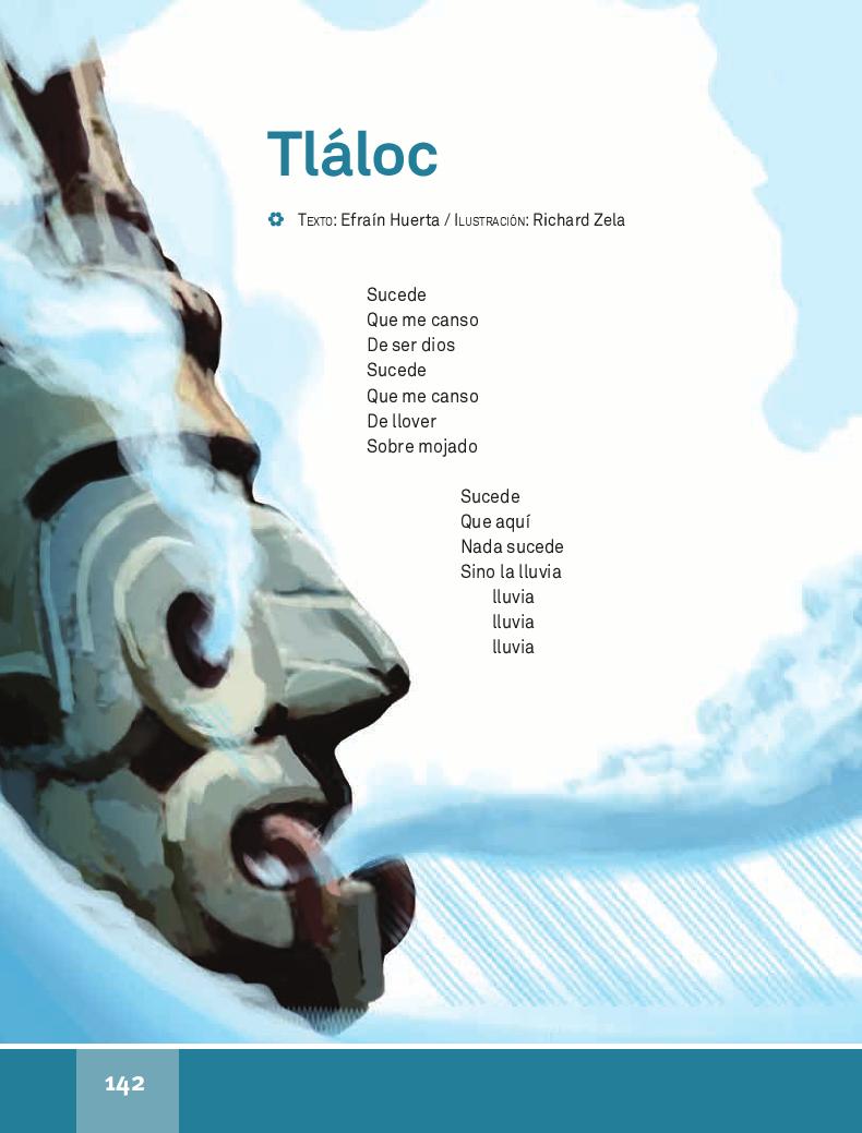 Tláloc - Español Lecturas 4to 2014-2015