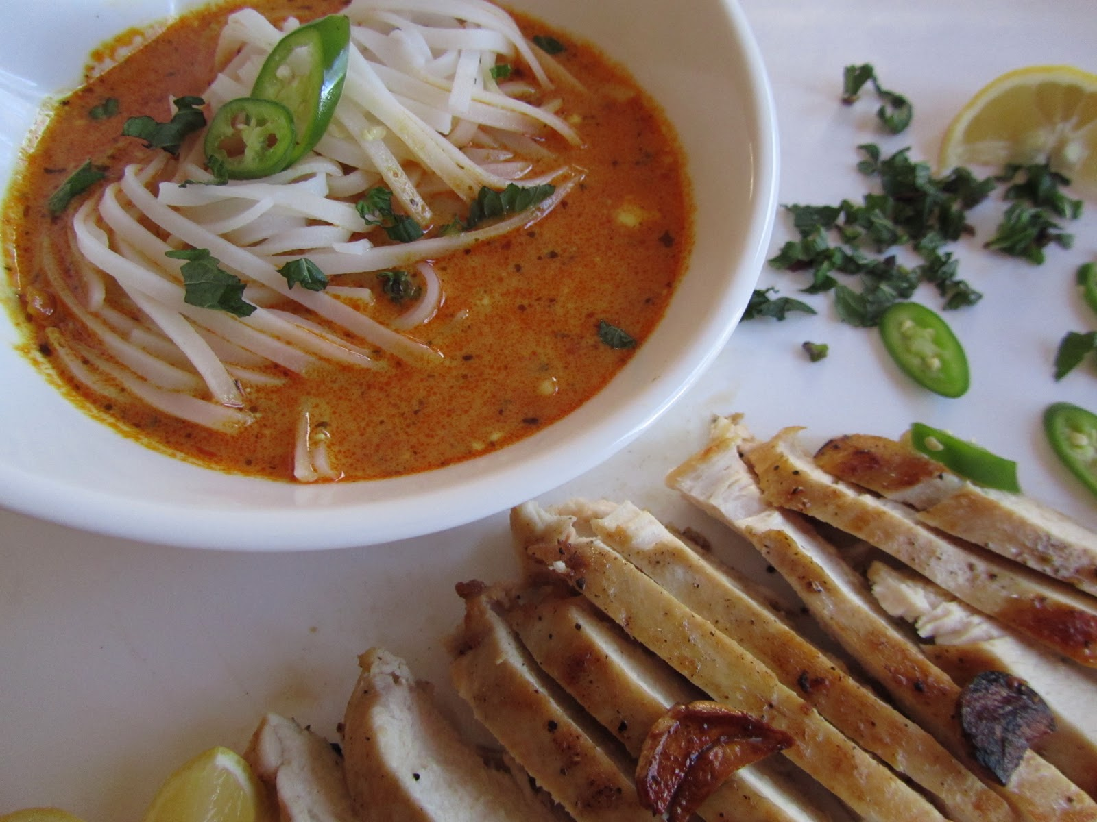 At Home with Rebecka: Coconut-Curry Noodle Soup from Martha Stewart ...