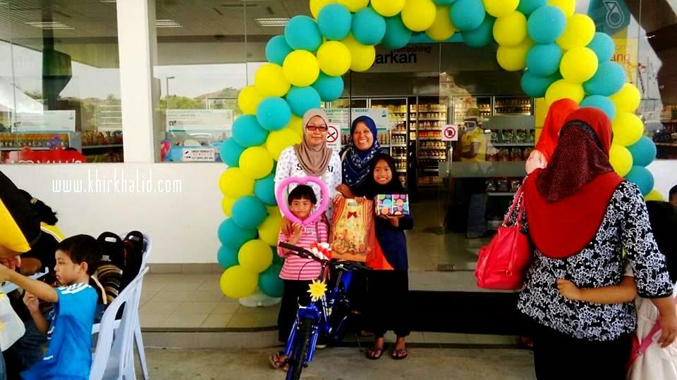 Perasmian Pembukaan Petronas Bandar Tasik Puteri