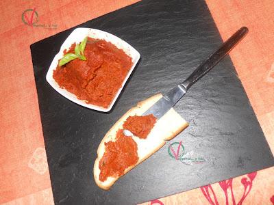 Pasta de pesto rojo