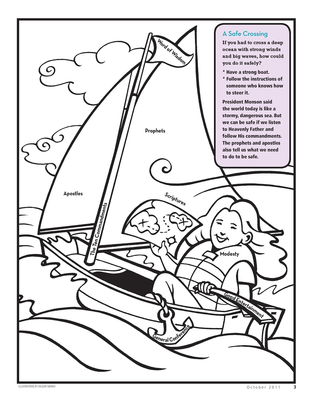 Latter day chatter i show love for jesus christ when i for Keep the commandments coloring page