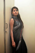 Model Shehnaaz Glam pics in saree-thumbnail-13