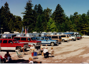 Airstream Trailer Rally:  Family Time in the in1970's