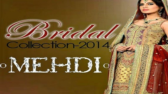 New Mehi Bridal Collection 2014