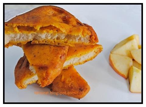 bread besan bajji, bread pakoda