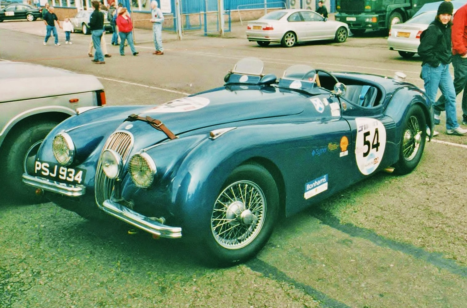 Ferraris And Other Things Jaguars Cars With Jaguar Engines 1950s S This Is A 1954 Xk120 The 3442cc Version Of Straight 6 Engine Car Was Entered Driven In Hgpca Race For Pre 1959 Drum Braked